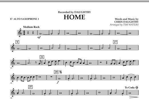 Home - Eb Alto Saxophone 1 (Concert Band)