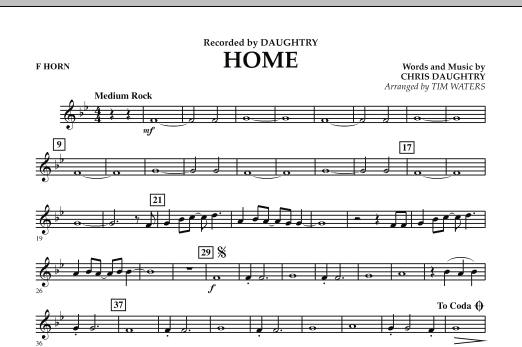 Home - F Horn (Concert Band)