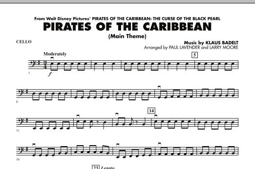 Pirates Of The Caribbean (Main Theme) - Cello (Orchestra)