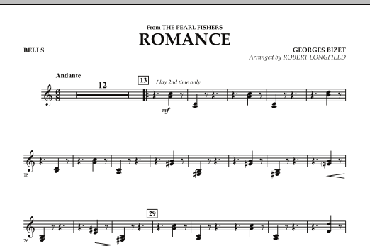 Romance (from The Pearl Fishers) - Bells (Orchestra)