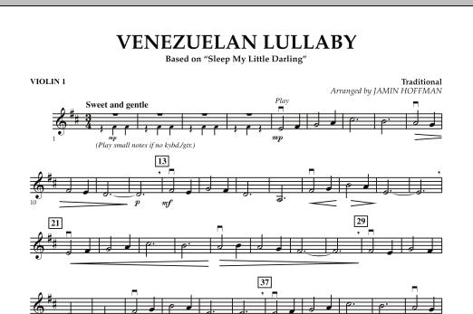 Venezuelan Lullaby - Violin 1 (Orchestra)