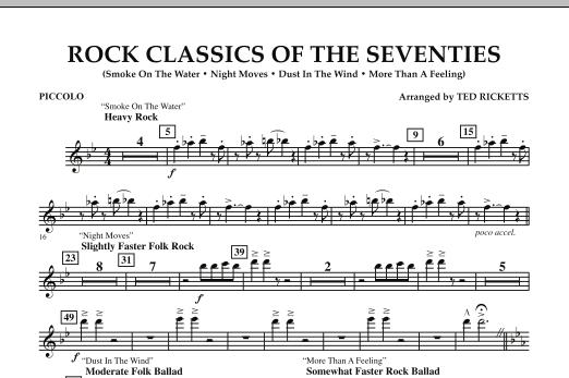 Rock Classics Of The Seventies - Piccolo (Concert Band)