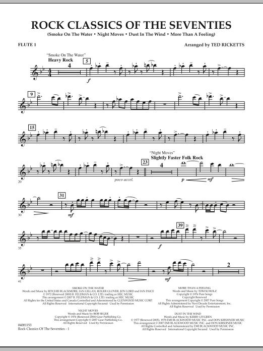 Rock Classics Of The Seventies - Flute 1 (Concert Band)