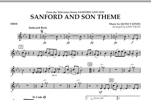 Sanford And Son Theme - Oboe (Concert Band)