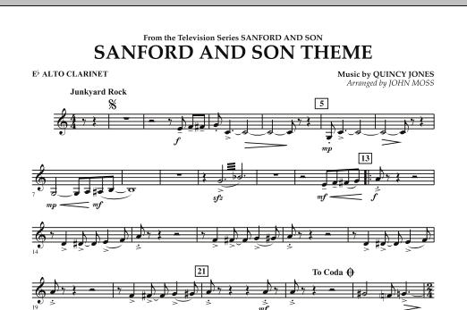 Sanford And Son Theme - Eb Alto Clarinet (Concert Band)