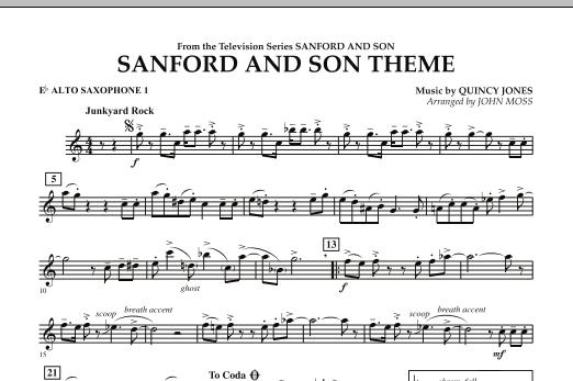 Sanford And Son Theme - Eb Alto Saxophone 1 (Concert Band)