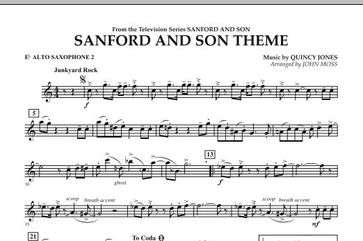 Sanford And Son Theme - Eb Alto Saxophone 2 (Concert Band)