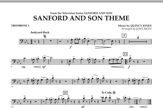 Sanford And Son Theme - Trombone 1 (Concert Band)