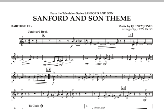 Sanford And Son Theme - Baritone T.C. (Concert Band)