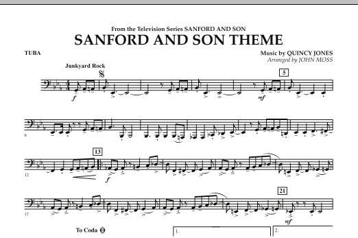 Sanford And Son Theme - Tuba (Concert Band)