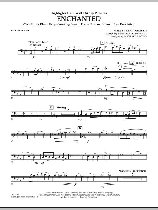 Highlights from Enchanted - Baritone B.C. (Concert Band)
