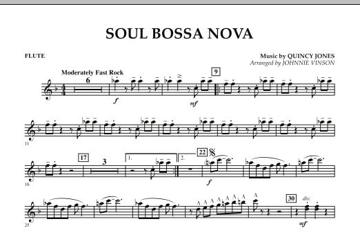 Soul Bossa Nova - Flute (Concert Band)