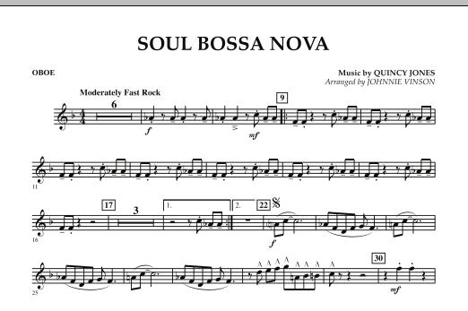 Soul Bossa Nova - Oboe (Concert Band)