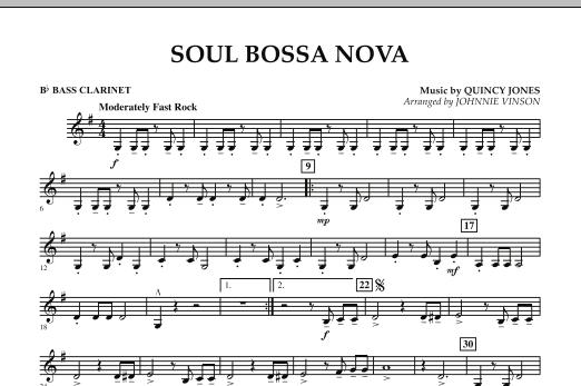 Soul Bossa Nova - Bb Bass Clarinet (Concert Band)