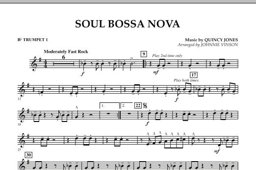 Soul Bossa Nova - Bb Trumpet 1 (Concert Band)