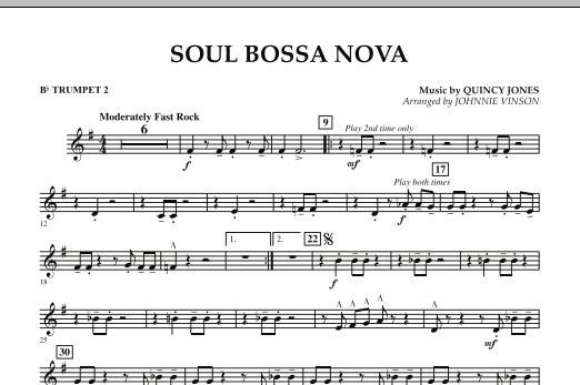 Soul Bossa Nova - Bb Trumpet 2 (Concert Band)