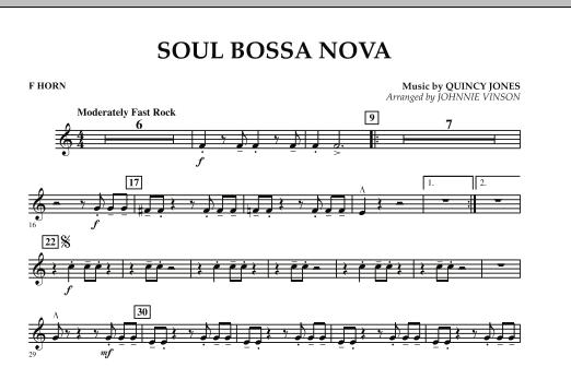 Soul Bossa Nova - F Horn (Concert Band)
