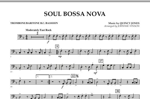 Soul Bossa Nova - Trombone/Baritone B.C./Bassoon (Concert Band)