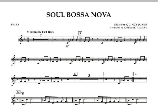 Soul Bossa Nova - Bells (Concert Band)