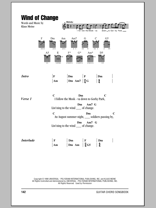 Winds of change guitar chords