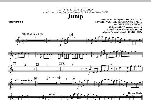 Jump - Trumpet 1 (Choir Instrumental Pak)