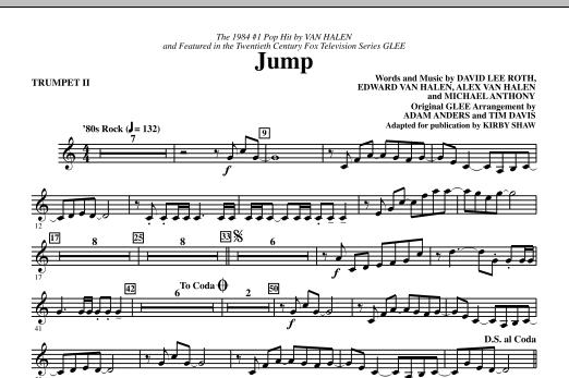 Jump - Trumpet 2 (Choir Instrumental Pak)