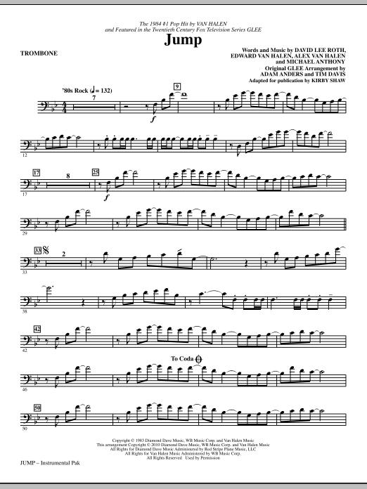 Jump - Trombone (Choir Instrumental Pak)
