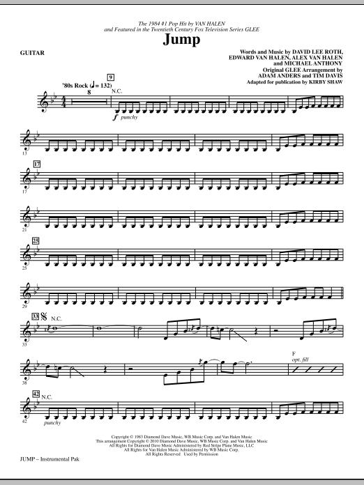 Jump - Guitar (Choir Instrumental Pak)