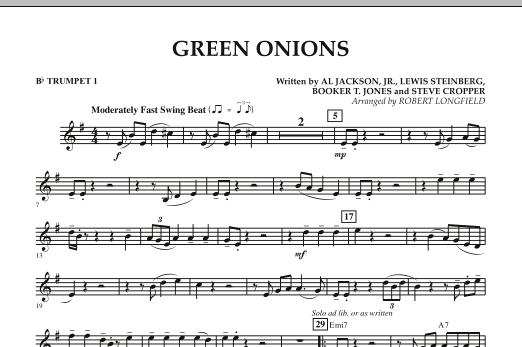 Green Onions - Bb Trumpet 1 (Concert Band)