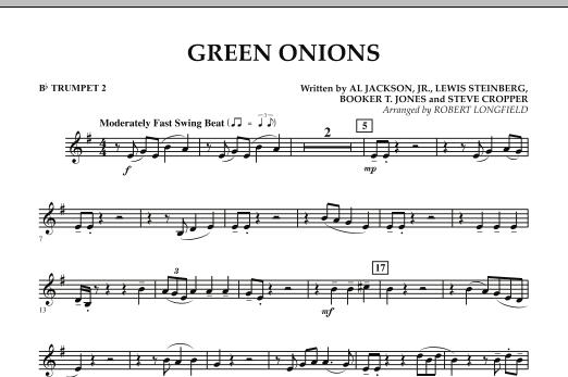Green Onions - Bb Trumpet 2 (Concert Band)