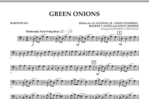 Green Onions - Baritone B.C. (Concert Band)