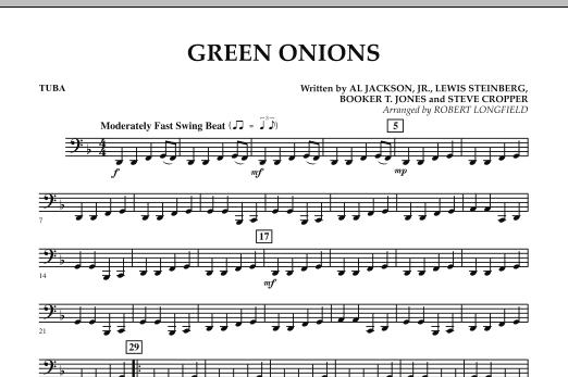 Green Onions - Tuba (Concert Band)