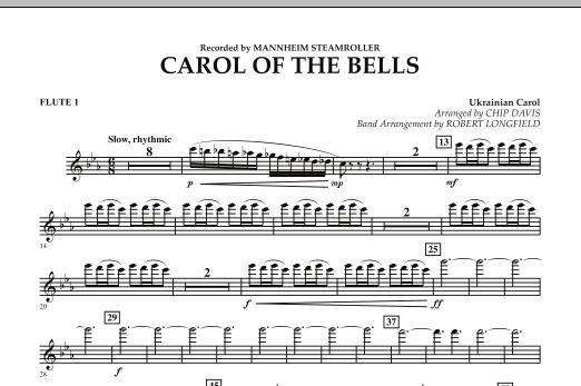 Carol Of The Bells - Flute 1 (Concert Band)