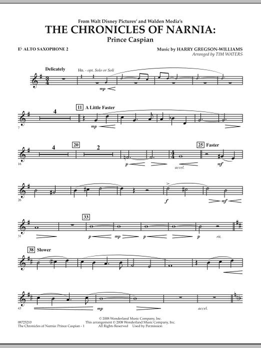 The Chronicles Of Narnia: Prince Caspian - Eb Alto Saxophone 2 (Concert Band)