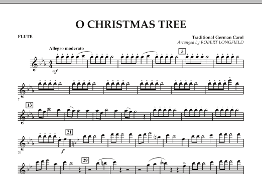O Christmas Tree - Flute (Concert Band)