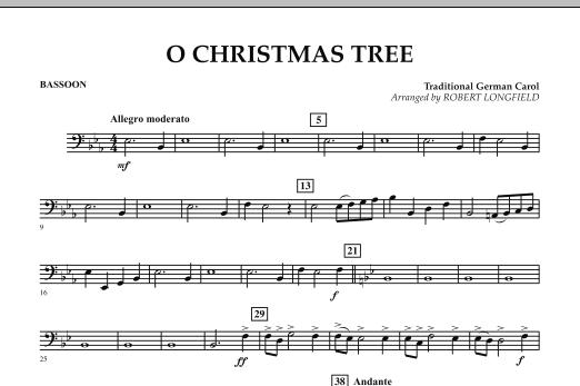 O Christmas Tree - Bassoon (Concert Band)