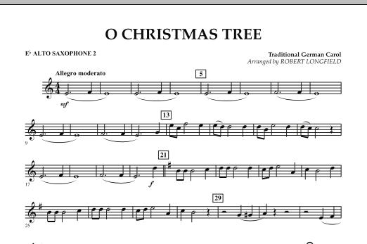 O Christmas Tree - Eb Alto Saxophone 2 (Concert Band)