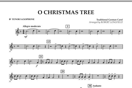 O Christmas Tree - Bb Tenor Saxophone (Concert Band)