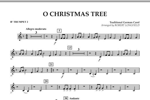 O Christmas Tree - Bb Trumpet 2 (Concert Band)