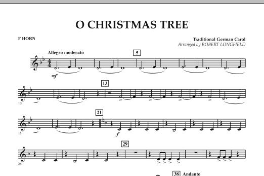 O Christmas Tree - F Horn (Concert Band)
