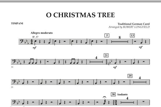 O Christmas Tree - Timpani (Concert Band)