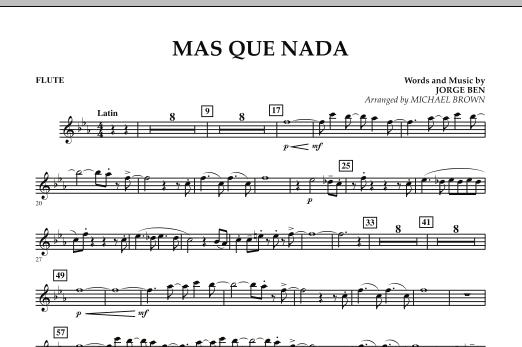 Mas Que Nada - Flute (Concert Band)