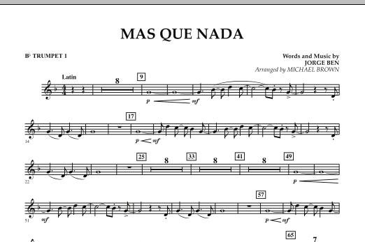 Mas Que Nada - Bb Trumpet 1 (Concert Band)