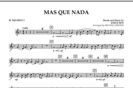 Mas Que Nada - Bb Trumpet 3 (Concert Band)