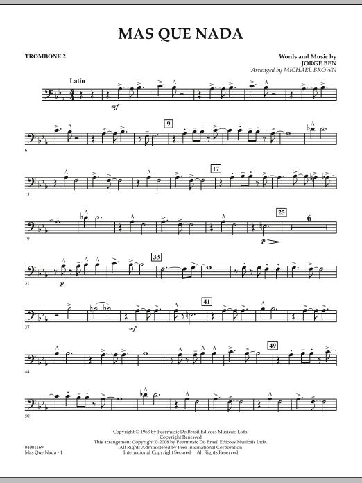 Mas Que Nada - Trombone 2 (Concert Band)