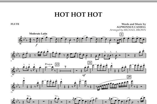 Hot Hot Hot - Flute (Concert Band)