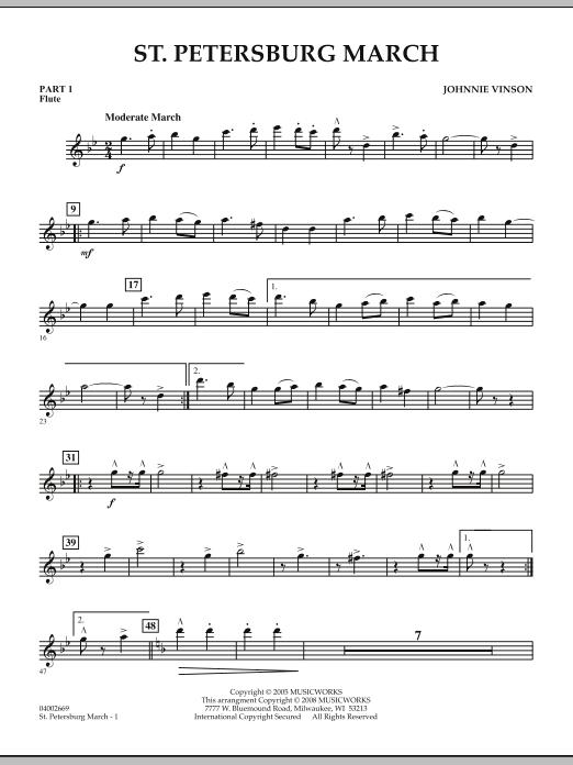 St. Petersburg March - Pt.1 - Flute (Concert Band: Flex-Band)