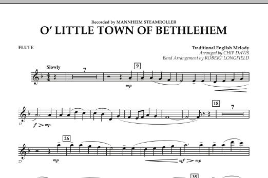 O Little Town Of Bethlehem - Flute (Concert Band)