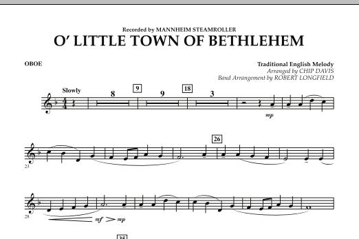 O Little Town Of Bethlehem - Oboe (Concert Band)