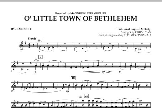 O Little Town Of Bethlehem - Bb Clarinet 1 (Concert Band)